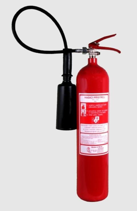 hasicí přístroj co