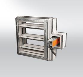 Prodej a revize požárních klapek
